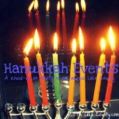Hanukkah Events for Families in Lake County  #Hanukkah #visitLakeCounty #LilLakeCo