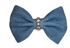 denim bow tie Bows, Tie, Suits, Denim, Accessories, Fashion, Moda, Arches, Outfits