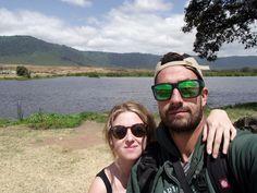 Lucía y Raúl en Ngorongoro
