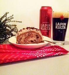Jouluoluthalko - tuunattu versio perinteisestä joulujälkiruoasta! Täyte ja kuorrute on maustettu Lapin Kulta Luomu Jouluoluella, joka korostaa jälkiruoan suklaisuutta ja tekee siitä raikkaamman. Katso resepti: www.facebook.com/Hartwall1836
