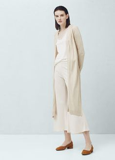 Long cardigan with s