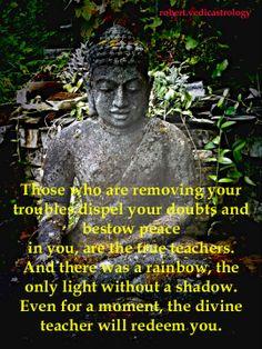 teacher Astrology, Buddha, Teacher, Rainbow, In This Moment, Statue, Movie Posters, Movies, Rain Bow