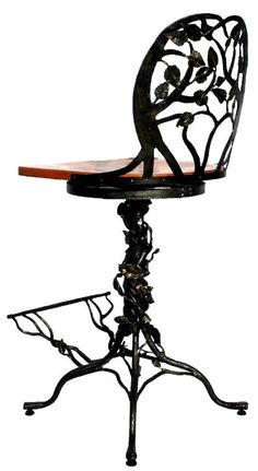 These would be perfect stools for the island & would go great with a wrought iron rocker. #LGLimitlessDesign #Contest
