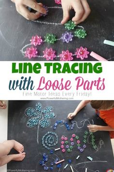 Line Tracing with Loose Parts