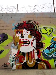 Street art Mural by Reka One [aka James Reka] Grafitti Street, Murals Street Art, Banksy, Melbourne Graffiti, Graffiti Wall Art, Outdoor Art, Street Artists, Teaching Art, Public Art