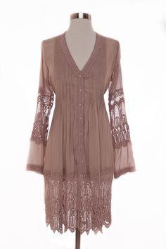 Elan International Clothing Pleated tunic top