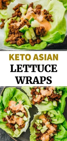 These are the best Asian lettuce wraps made with ground beef and an amazing sauce! Easy and simple, you can have this ready in under 30 minutes, for lunch or dinner. This healthy recipe is also great for keto and low carb diets. It has bold flavors, including salty, sweet, spicy, and sour.
