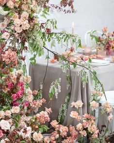 Garden inspired table setup from workshop in Vancouver back in May ✨ Team: Hosting and assisting - Floral assistant Photos Table styling Dress Venue Ribbon MUAH @ anastasiiamay. Wedding Decorations, Table Decorations, Garden Wedding, Floral Arrangements, Vancouver, Wedding Ceremony, Wedding Flowers, Workshop, Bouquet