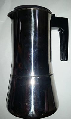 """Bialetti INOX-H 6 Stainless Steel 18/10 """"Espresso"""" Coffee Maker -- Check this useful article by going to the link at the image. #StovetopEspressoMokaPots"""