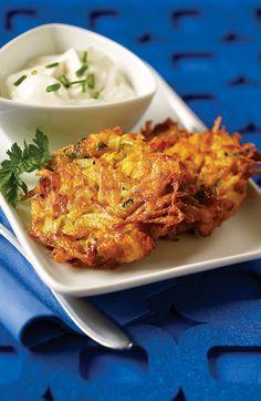 Aux couleurs vibrantes, les patates douces fournissent quatre fois l'apport quotidien recommandé de bêta-carotène, qui aide à garder la peau en santé. #recette