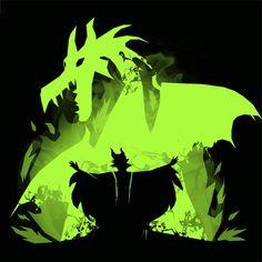 Maleficent Dragon by Vallina84 | www.TeeTee.eu Disney Villains, Disney Movies, Disney Pixar, Walt Disney, Looney Tunes Cartoons, Disney Cartoons, Maleficent Dragon, Evil Fairy, Disney Decendants