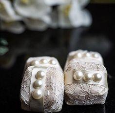 Embalagem do Casal Garcia - Bolos e Bem-casados