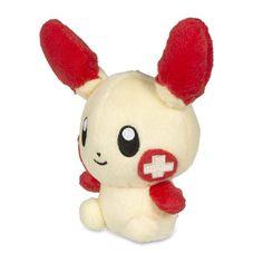 "Image for Plusle Poké Doll Plush (Standard Size) - 6"" from Pokemon Center"