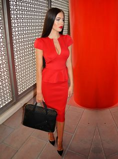 LAURA BADURA FASHION & BEAUTY: Basement Red-y