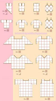 Granny Square Haoiri (Kimono C