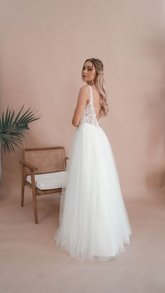 Inspired by the love for minimalistic elegance, Miss Scarlett is an Australian bridal label offering contemporary custom-made dresses for the bride looking for something a little more sophisticated and a little less traditional. Debutante Dresses, Bride Look, Lace Bodice, Serendipity, How To Feel Beautiful, Wedding Gowns, Ball Gowns, Bridal, Princess