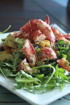 """Summer is almost here"" Lobster Salad by @Sonia! The Healthy Foodie"