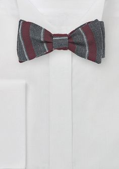 When traveling, always pack a wool bow tie. They come in handy and don't wrinkle.