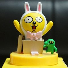 Kakao Friends Mini Figure (Muzi & Con, Surprise, Present) Kakao Talk Emoticon in Toys & Hobbies | eBay