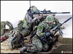 SEAL Team 8 Sniper Team | 1:6 scale