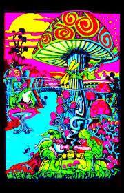 magic mushroom art