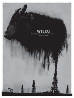 GigPosters.com - Wilco by Little Jacket