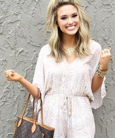 The Sandy Shore Beige Print Romper has us wanting to watch the waves crash on the beaches of paradise! Wide kimono sleeves frame a V-neck and back with a cinched tie waist and casual shorts, fully decorated with ivory print over a beige bodice. A buttoned keyhole sits at the top of the back and side pockets add extra convenience.