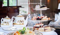 Afternoon Tea at Llangoed Hall, Wales