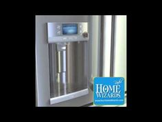 Home Wizards - The Fridge That Makes Coffee - Hot Water with the Press of a Button http://www.yourhomewizards.com