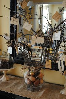 Naptime Decorator: Simple, Easy Thanksgiving Decor