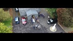 Celine & Padraig's Wedding - Drone footage of Moynalvey Church Church Wedding, Unique Weddings, Celine, Weddingideas, Sky, Heaven, Heavens, Unique Wedding Favors