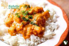 Kuchařka ze Svatojánu: CUKETA NA PAPRICE Raw Food Recipes, Cooking Recipes, Healthy Recipes, Chana Masala, No Cook Meals, Bon Appetit, Healthy Living, Curry, Quinoa
