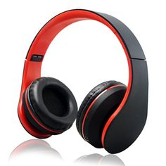 iRunzo Over Ear Stereo Wireless Bluetooth Headset Headphone with Mic 3.5mm Jack FM Radio Memory Card MP3 Noise Canceling Folding Strech for iPhone LG Samsung Sony PC Xbox Ps4 Gaming Sports(Red) iRunzo http://www.amazon.com/dp/B01CUAUQFQ/ref=cm_sw_r_pi_dp_StGfxb1T30BSH