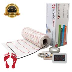 Underfloor Heating mat per square meter. Our heating mat can achieve a Primary heat source. heating mats are easy to install and simply rolled out. Underfloor Heating Mats, Insulation Board, Adhesive Tiles, Common Area, Concrete Floors, Service Design, Free Design, Concrete Floor