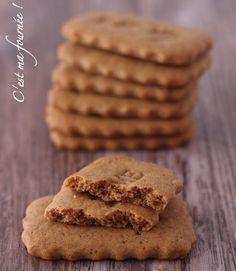 C'est ma fournée !: Les spéculoos de Christophe Felder Biscotti Biscuits, Biscuit Recipe, Cookies Et Biscuits, My Recipes, Sweet Recipes, Cookie Recipes, Chefs, British Biscuits, Cooking Cookies