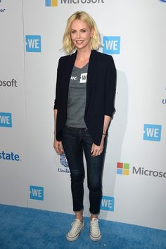 Charlize Theron Photos Photos - Actress Charlize Theron walks the WE Carpet at WE Day California 2016 at The Forum on April 7, 2016 in Inglewood, California. - WE Day California - Arrivals