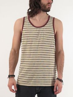 Future Bender tank top for men by Captain Fin