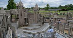 Fort Fraser at Steffens Park - #MetroDetroit #Playground