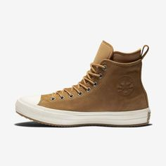 6f8a2a03e Converse Chuck Taylor All Star Waterproof Nubuck Boot Unisex Leather Boot  Brown Fashion, Converse Chuck
