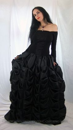 Moonmaiden Gothic Clothing - Selvaria Gown