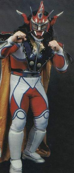 Because Jushin Liger looks like this and no one cares.    - Jushin Liger