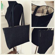 Shopper Jeans Madewell, Tote Bag, Jeans, Fashion, Moda, Fashion Styles, Carry Bag, Fashion Illustrations, Fashion Models