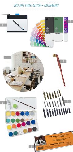 2013 Gift Guide: Designers + Calligraphers