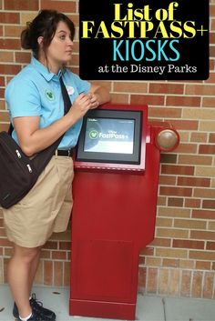 You will find it helpful to know in advance where these FastPass Plus kiosks are…