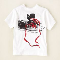 Sneaker graphic tee from Children's Place $7 Way too cute, little Isaiah would love this!