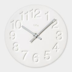Diatomite Wall Clock   MoMA $70.00