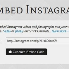 n BlogTech Time: Embed Instagram photos o Tech News, Coding, Learning, Blog, Photos, Instagram, Pictures, Studying, Blogging