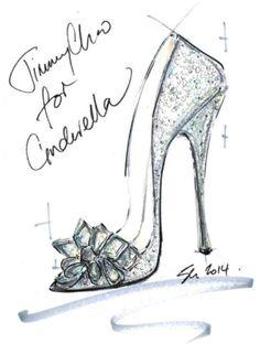Jimmy Choo, Nicholas Kirkwood, and More Reimagine Cinderella's Glass Slipper - Fairytale Fashion