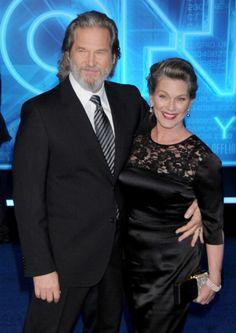 Jeff Bridges  Susan Geston-34 yrs