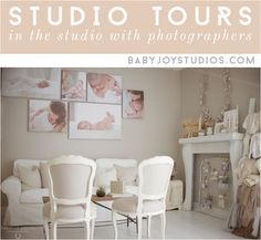Natural light newborn photography studio - Home studio/office - Photopraphy